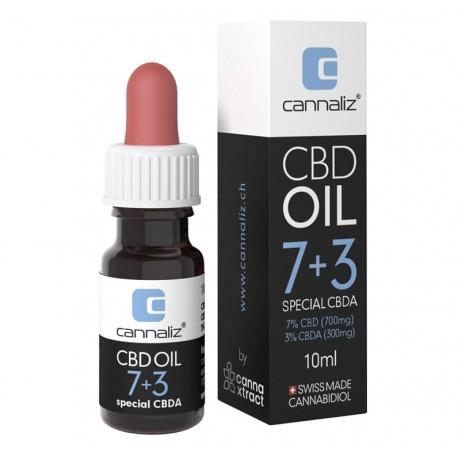 CANNALIZ CBD-ÖL : 7% CBD + 3% CBDA