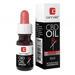 CANNALIZ CBD OIL (RATIO EDITION) : 8/1 CBD/THC RATIO (10[ML])