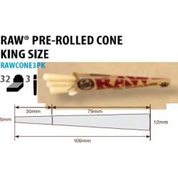 Raw Cones Kingsize