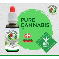 Merlin's Garden - Pure Cannabis Liquid 10ml, ohne CBD