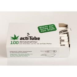 100 actiTube Aktivkohlenfilter
