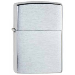 Zippo Reg 200 Chrome Brush Finish